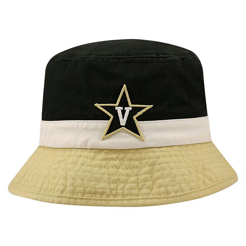 Adult Top of the World Vanderbilt Commodores Trifecta Bucket Hat