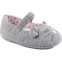 Baby Girl Wee Kids Mouse Slip-On Crib Shoes