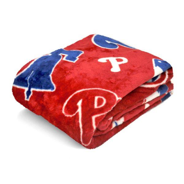 Philadelphia Phillies Plush Throw