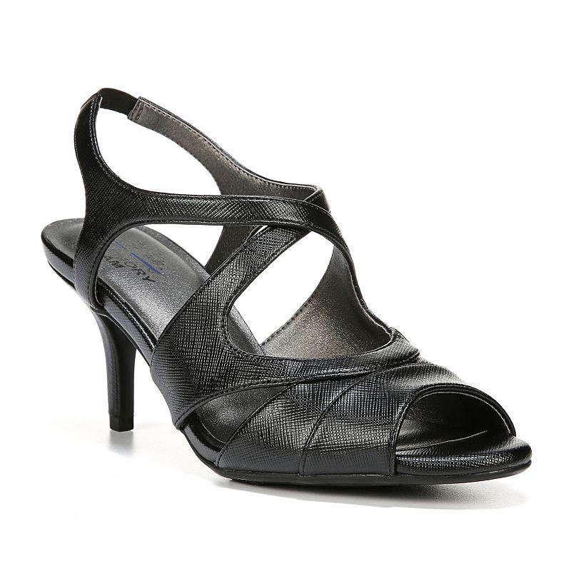 LifeStride Note Women's Peep-Toe High Heels