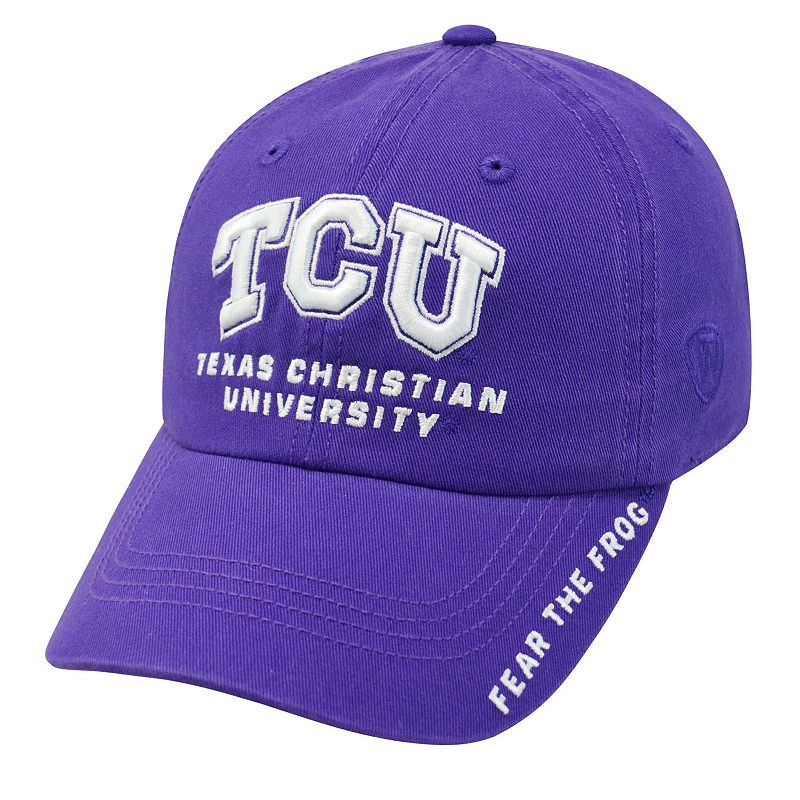 Adult Top of the World TCU Horned Frogs Undefeated Adjustable Cap