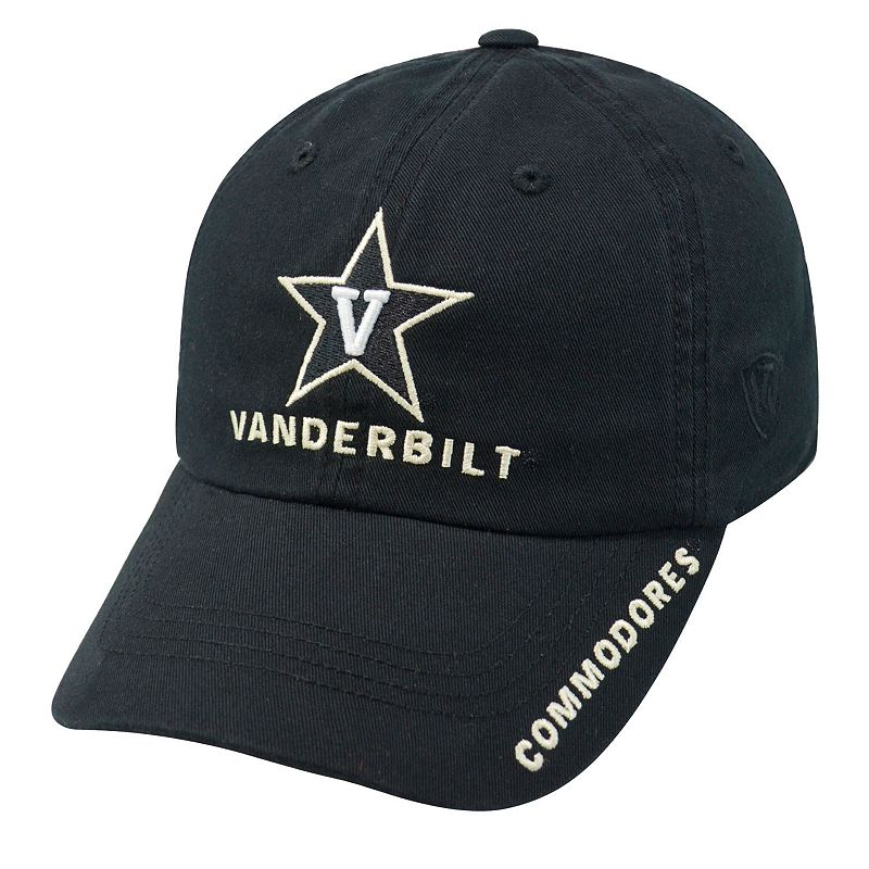 Adult Top of the World Vanderbilt Commodores Undefeated Adjustable Cap