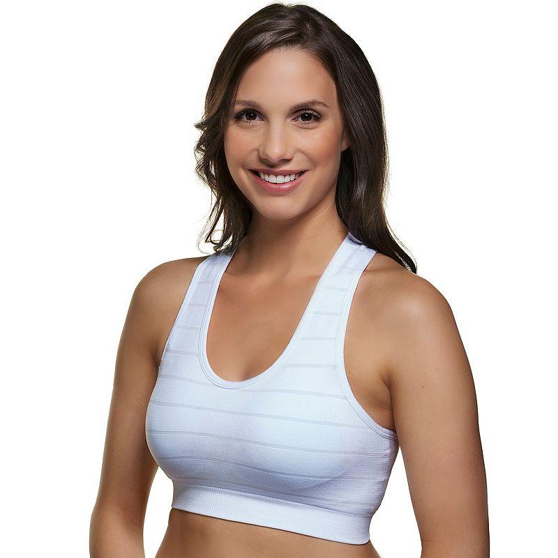 Superfit Curves Bra: Striped High-Impact Sports Bra 36020