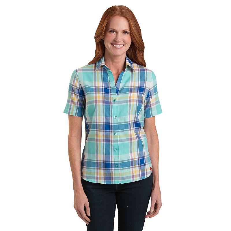 Women's Dickies Plaid Twill Shirt
