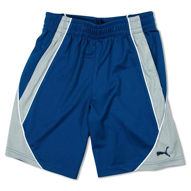 Boys 4-7 PUMA Colorblocked Shorts