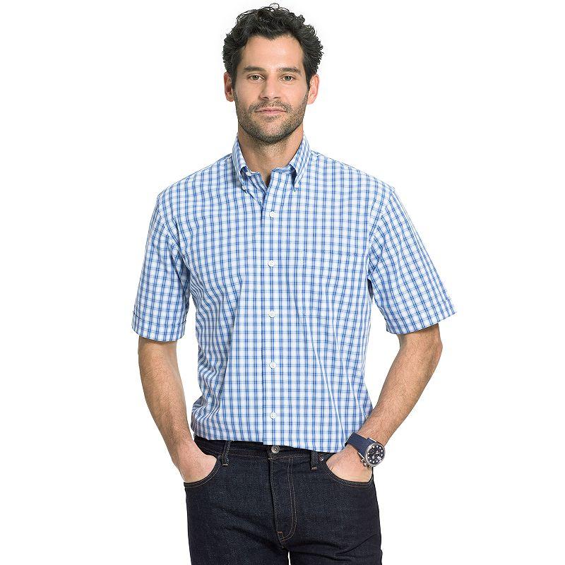 Men's Arrow Hamilton Poplin Button-Down Shirt