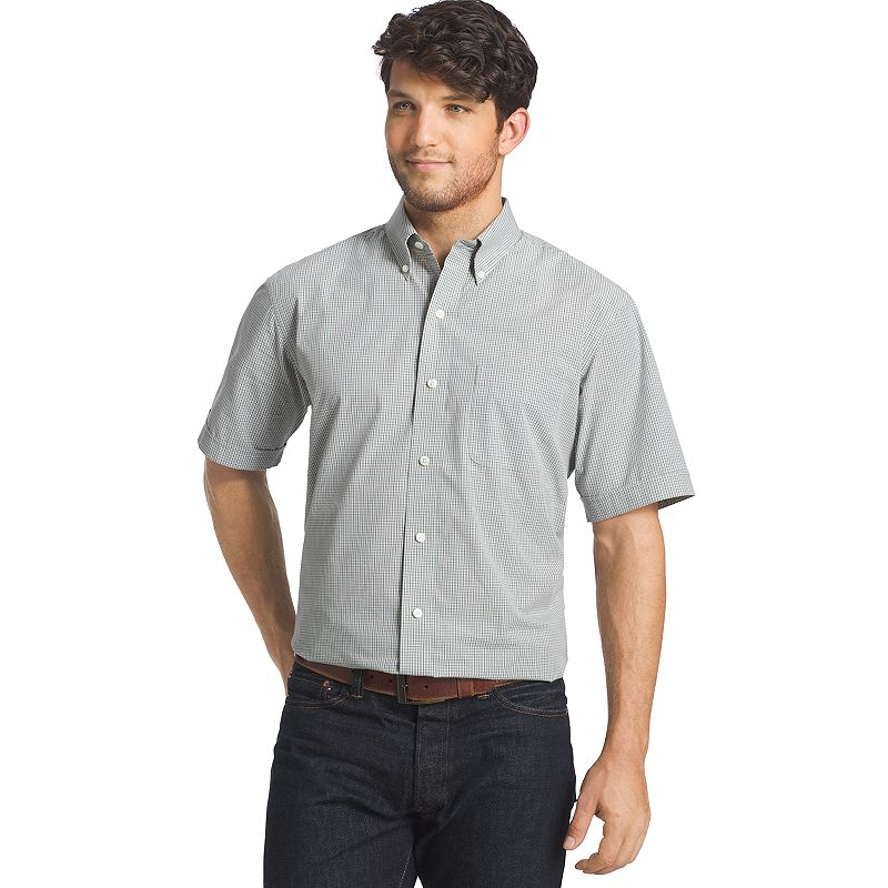 Men's Arrow Hamilton Poplin Button-Down Shirt