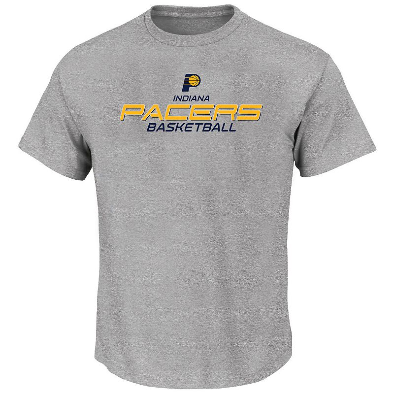 Big & Tall Majestic Indiana Pacers Tee