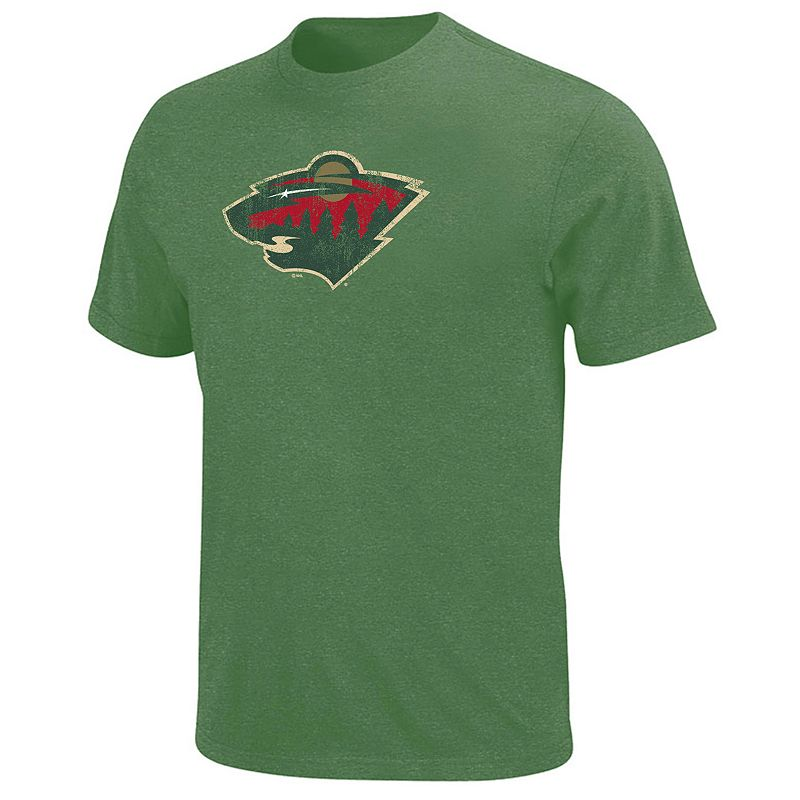 Big & Tall Majestic Minnesota Wild Tee