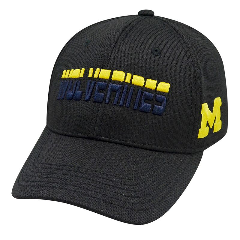 Adult Top of the World Michigan Wolverines Vigor One-Fit Cap