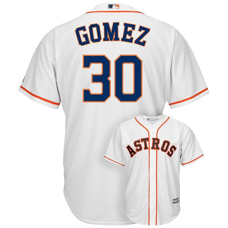 Men's Majestic Houston Astros Carlos Gomez Cool Base Replica MLB Jersey