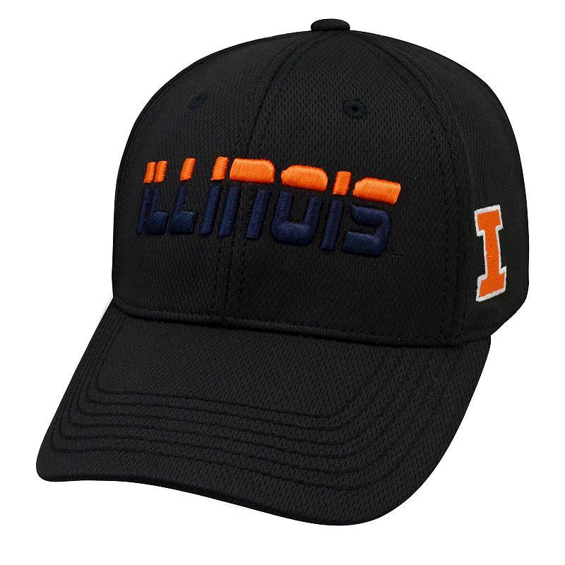 Adult Top of the World Illinois Fighting Illini Vigor One-Fit Cap