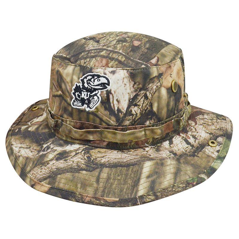 Adult Top of the World Kansas Jayhawks Woodsmen Bucket Hat