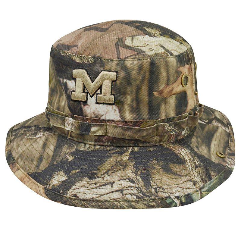 Adult Top of the World Michigan Wolverines Woodsmen Bucket Hat