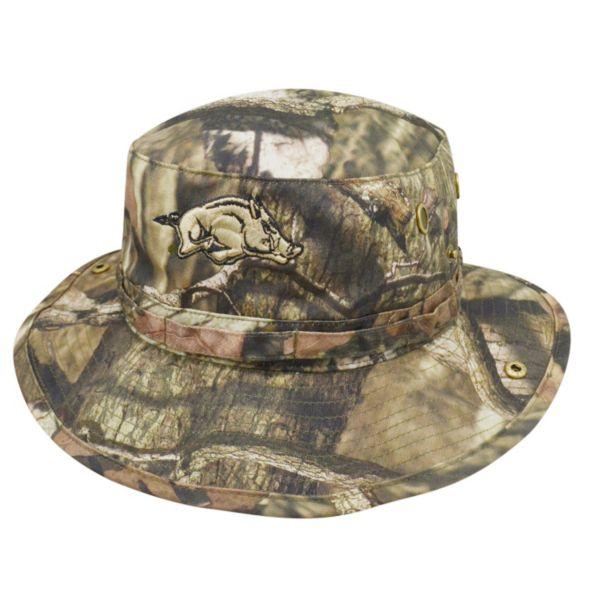 Adult Top of the World Arkansas Razorbacks Woodsmen Bucket Hat