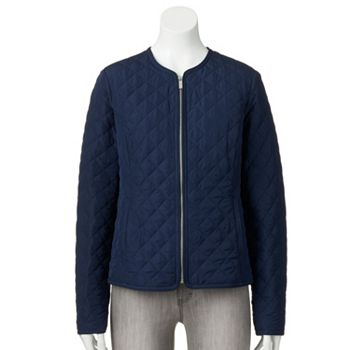 Croft & Barrow Quilted Women's Jacket