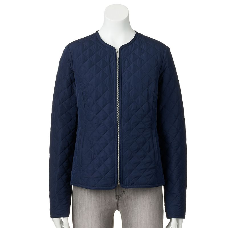 Women's Croft & Barrow® Quilted Jacket