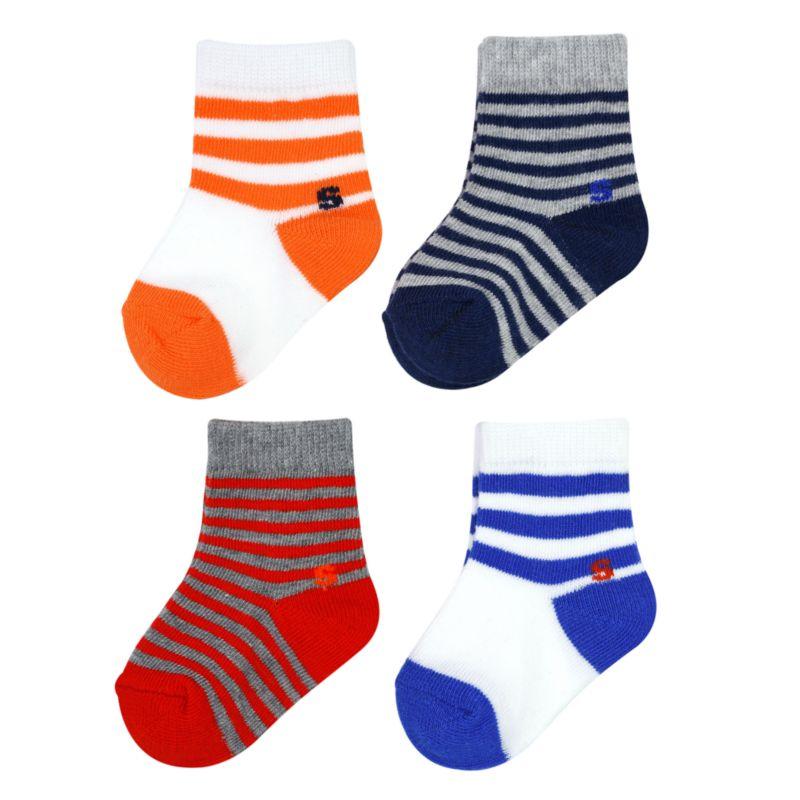 Baby Boy / Toddler Boy Jumping Beans® 4-pk. Crew Socks, Size: 2T-4T, Blue thumbnail