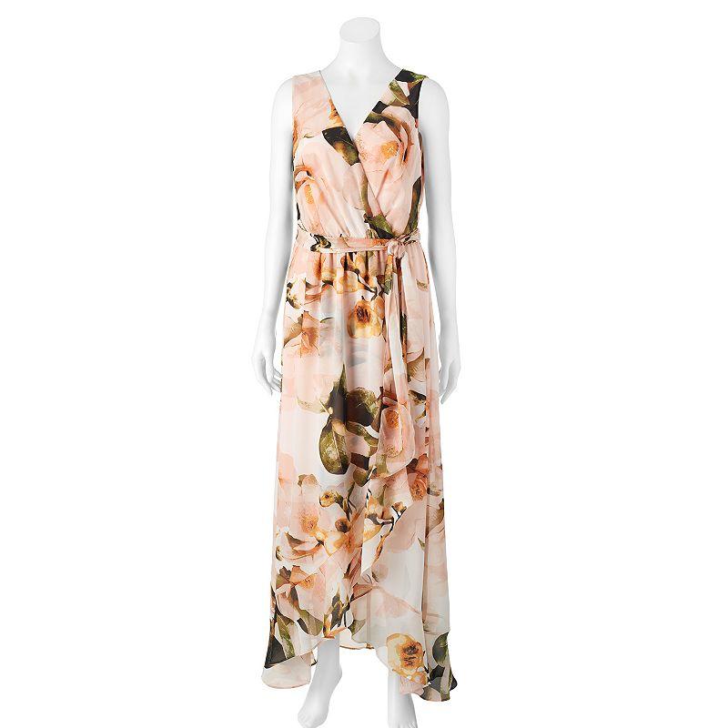 Women's Chaya Floral Faux-Wrap Maxi Dress