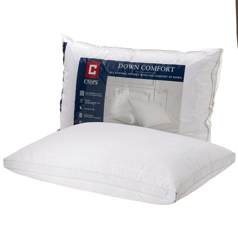 Chaps Home Down Comfort Firm Support Pillow
