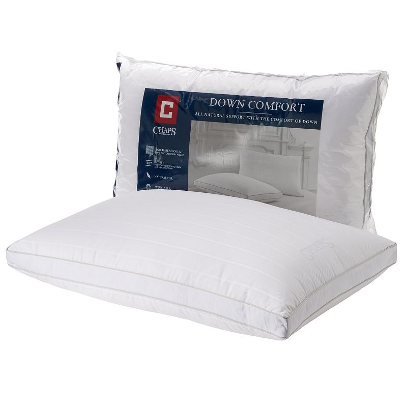 Chaps Home Down Comfort Extra Firm Support Pillow