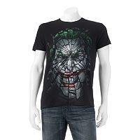 Men's DC Comics Shattered Joker Tee