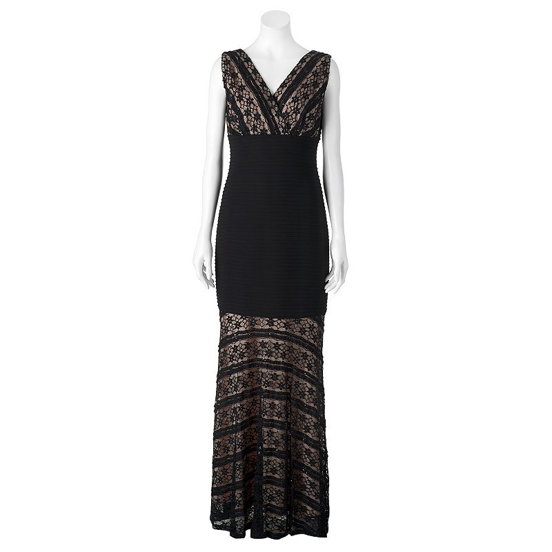 Women's Chaya Sequin Lace Evening Gown