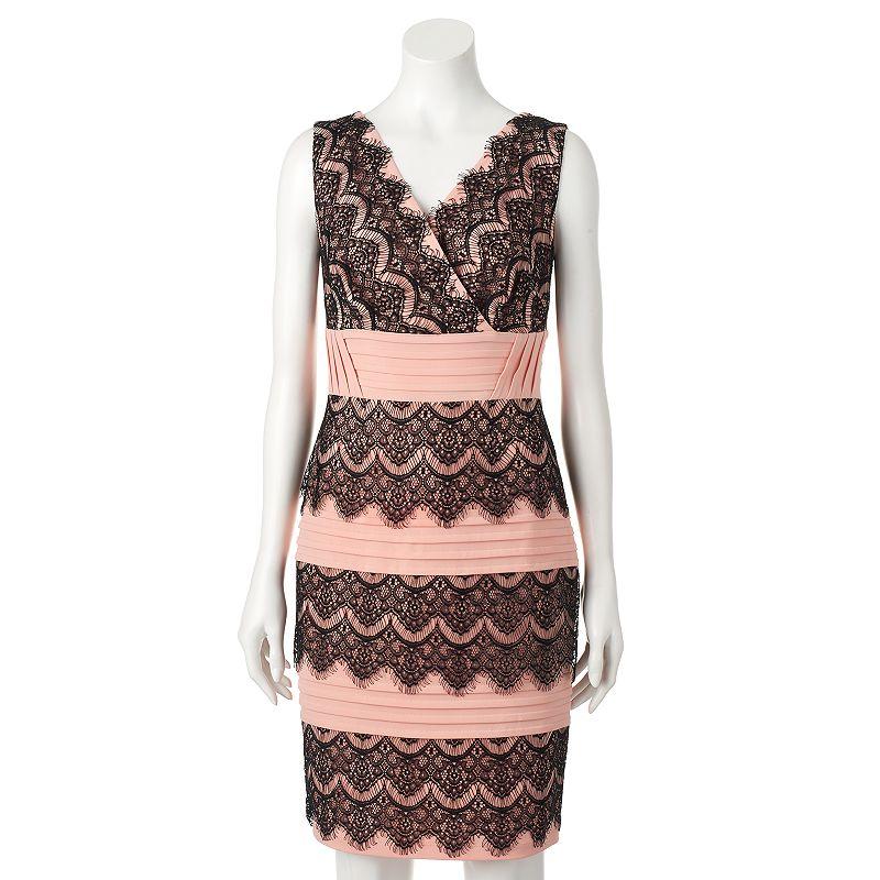 Women's Chaya Lace Scalloped Sheath Dress