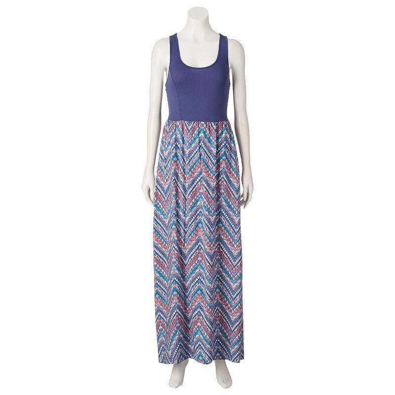 Juniors' Mudd® Racerback Maxi Dress