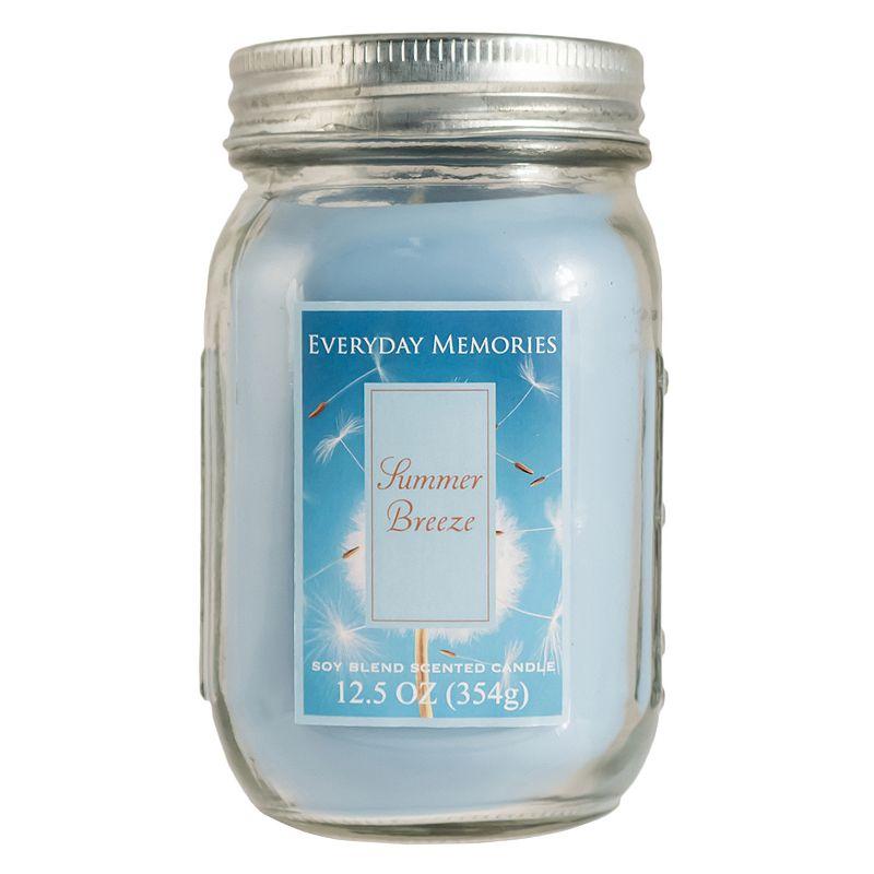 Everyday Memories 12.5-oz. Summer Breeze Mason Jar Candle