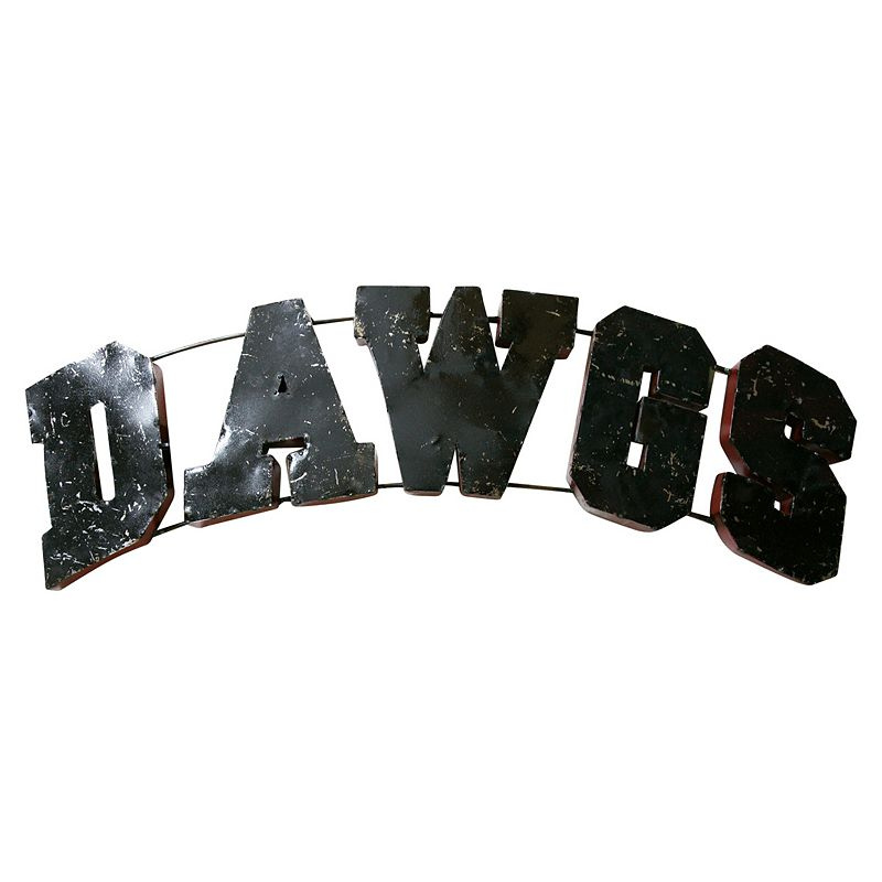Georgia Bulldogs Recycled Metal Wall Décor