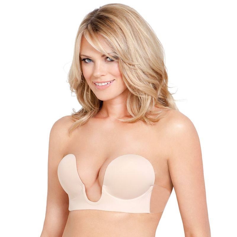 Fashion Forms Bra: U-Plunge Backless Strapless Adhesive Bra 16536