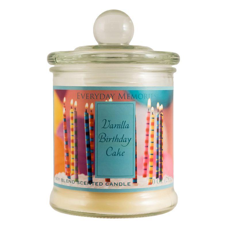 Everday Memories 10-oz. Vanilla Birthday Cake Jar Candle