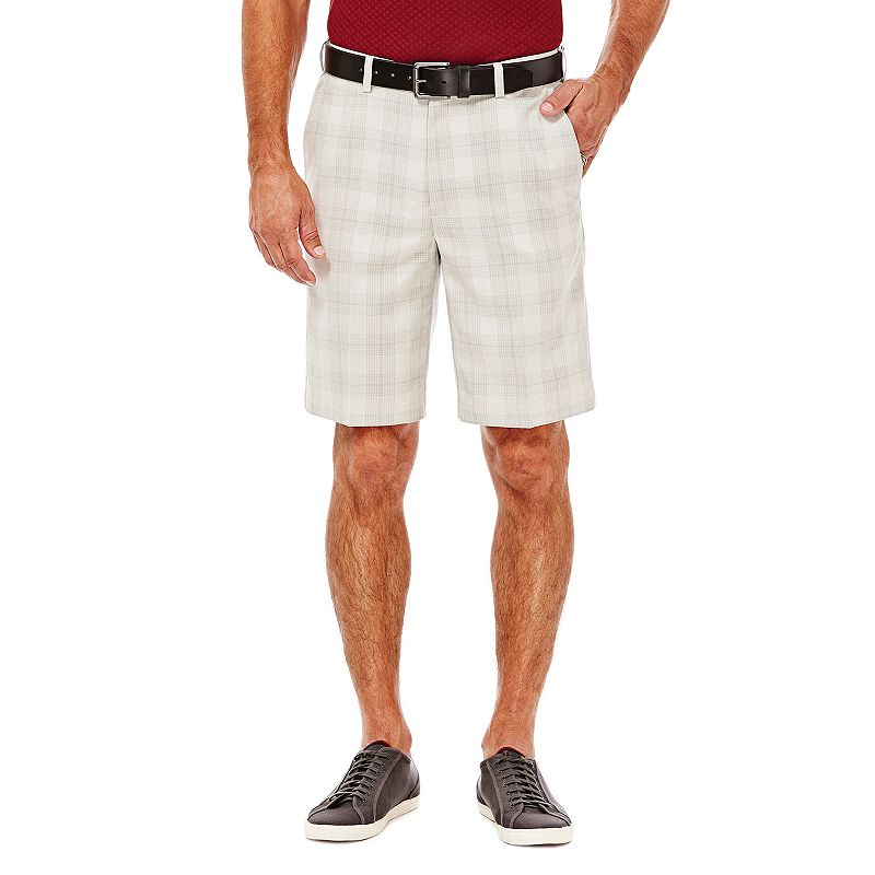 Men's Haggar Classic-Fit Plaid Shorts