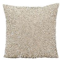 Michael Amini Sequin Throw Pillow
