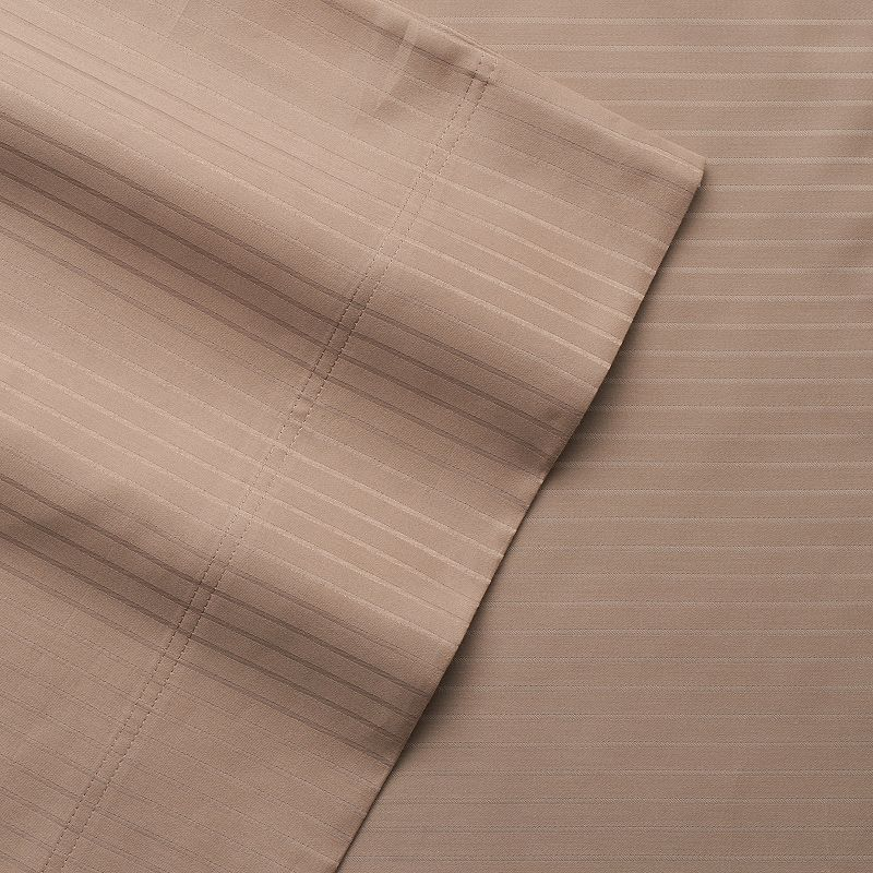Grand Collection Valia 800 Thread Count 6-piece Stripe Sheet Set
