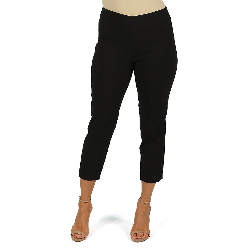 Women's Harve Benard Millennium Classic Fit Pull-On Crop Pants