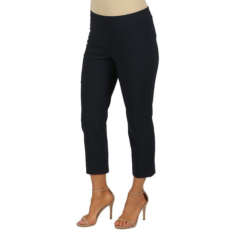 Women's Harve Benard Millennium Classic Fit Pull-On Crop Pants