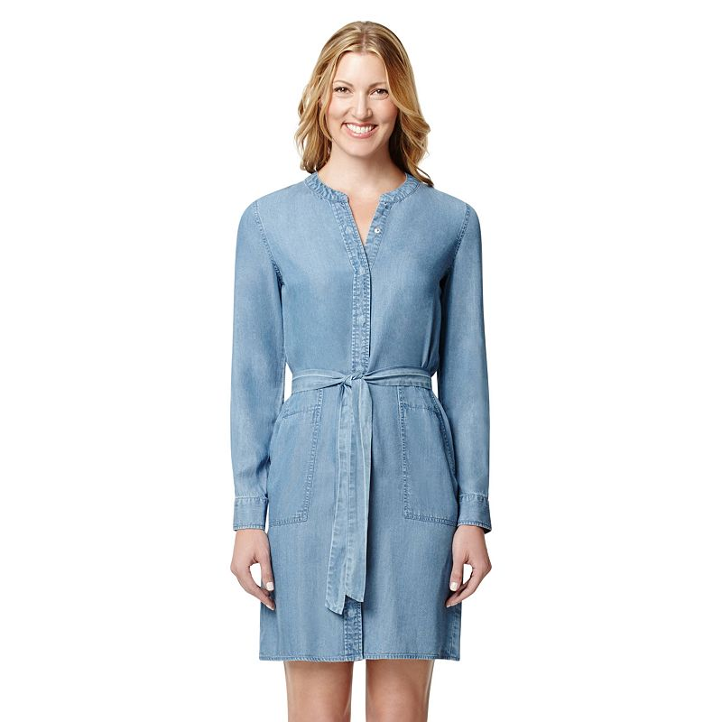 Women's Harve Benard Chambray Shirtdress