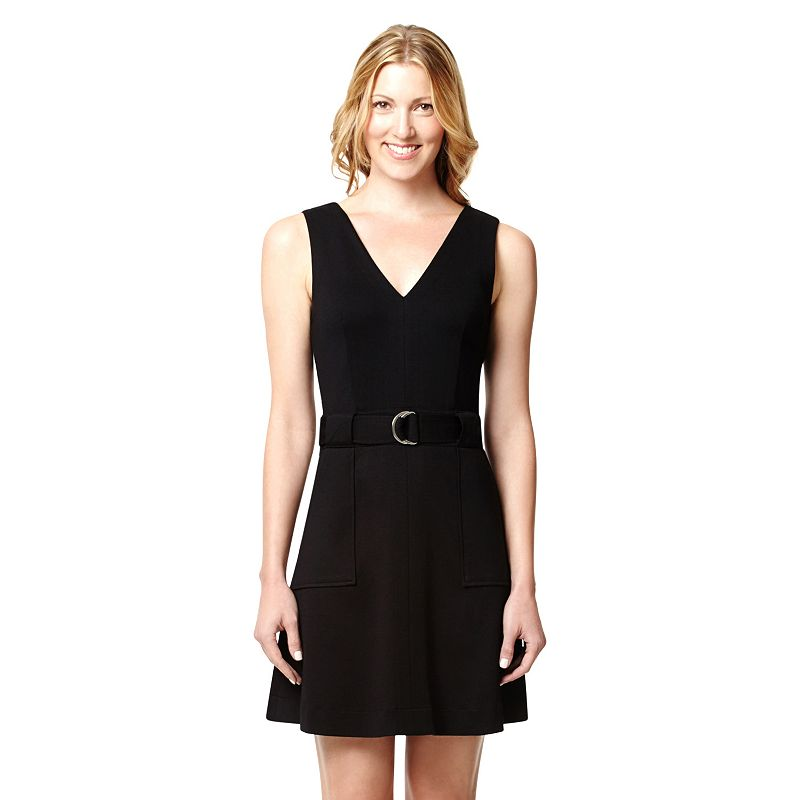 Women's Harve Benard Ponte Utility Dress