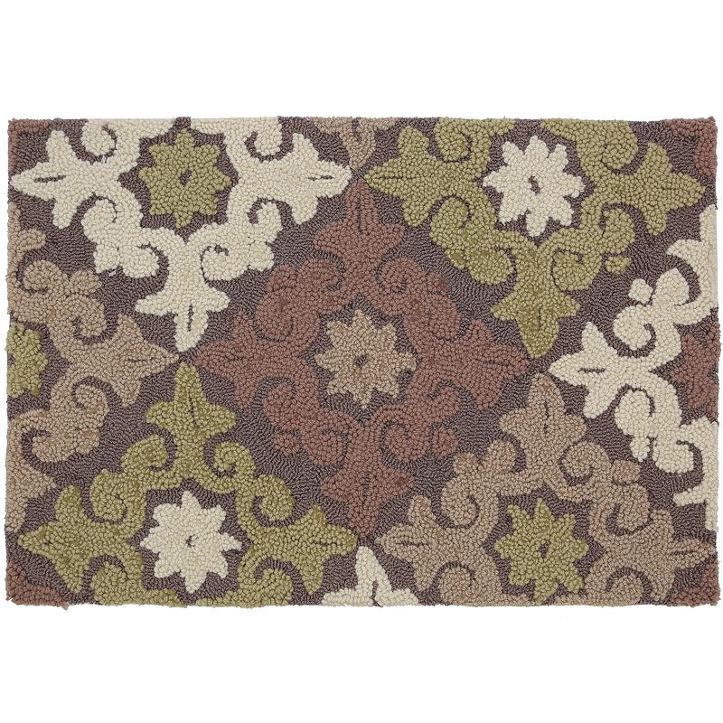 Food Network™ Diamond Stardust Medallion Kitchen Rug - 20'' x 30''