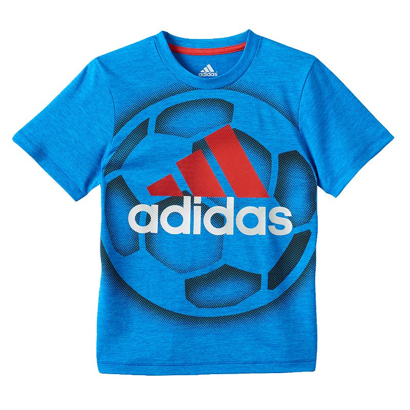 Boys 4-7x adidas climalite Sports Ball Graphic Tee