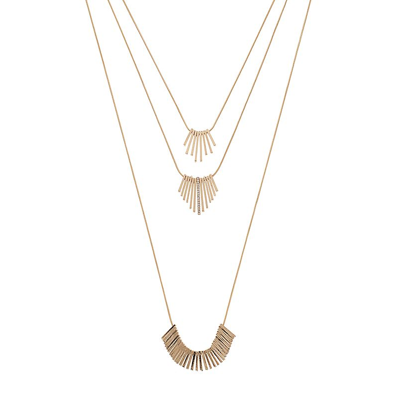 Apt. 9® Graduated Stick Multistrand Necklace
