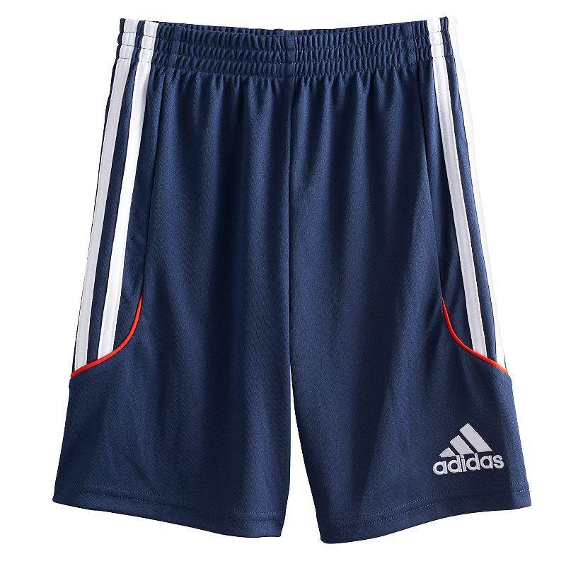 Boys 4-7 adidas climalite Striped Athletic Shorts