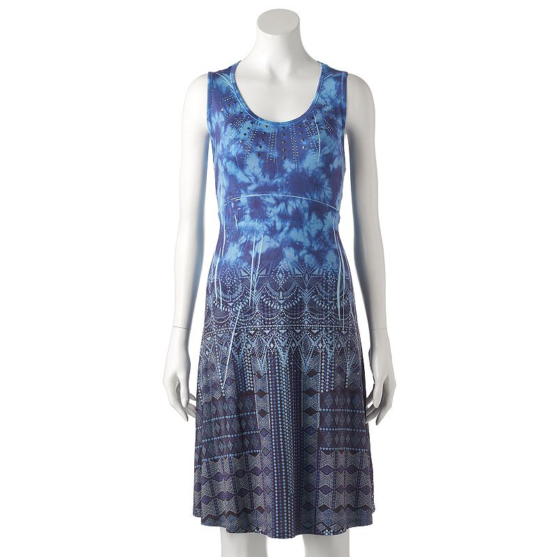 Women's Apt. 9® Embellished Sublimation Shift Dress