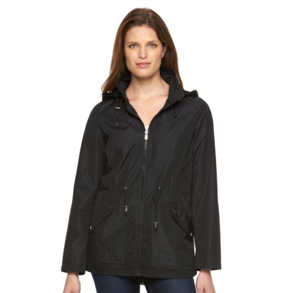 Women's d.e.t.a.i.l.s Hooded Roll-Tab Anorak Jacket