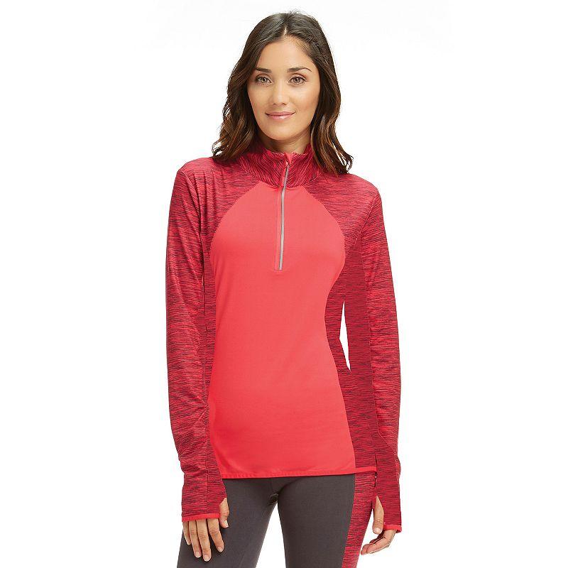 Women's Marika Space-Dye Half-Zip Running Jacket