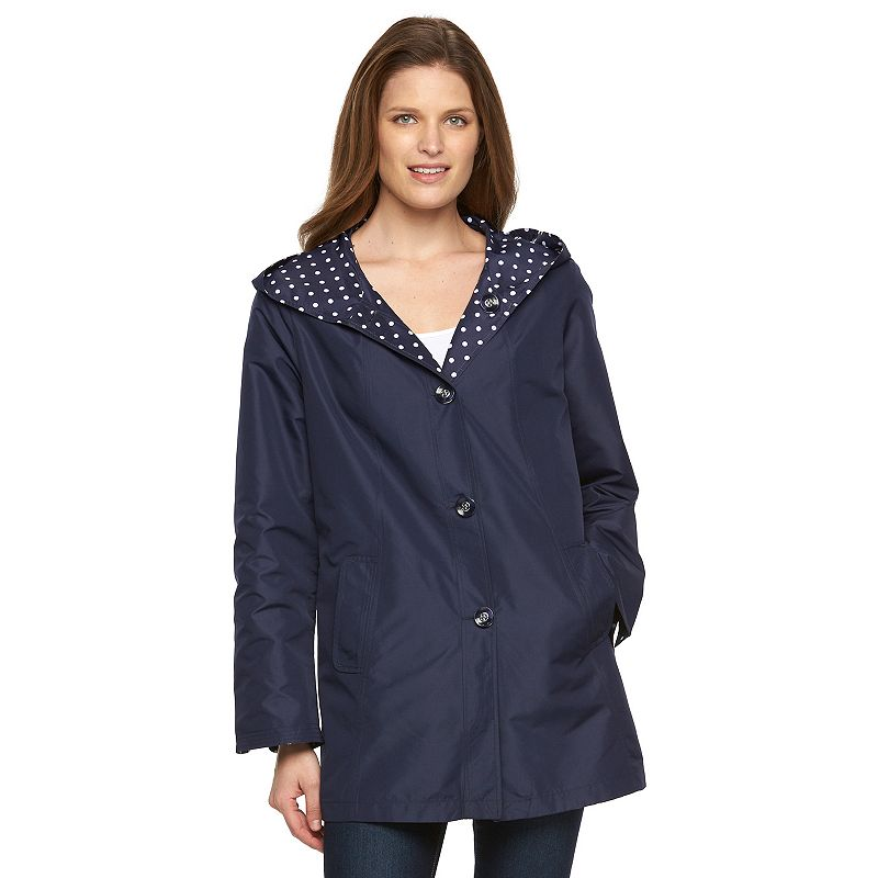 Women's d.e.t.a.i.l.s Packable Reversible Rain Jacket