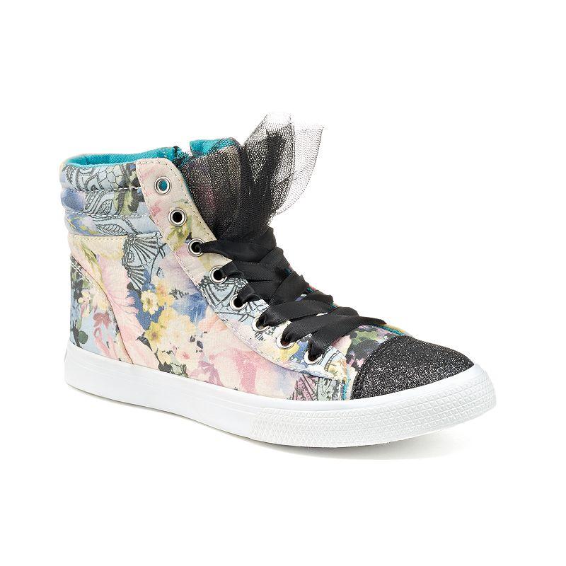 Disney D-Signed Alice in Wonderland Girls' High-Top Sneakers