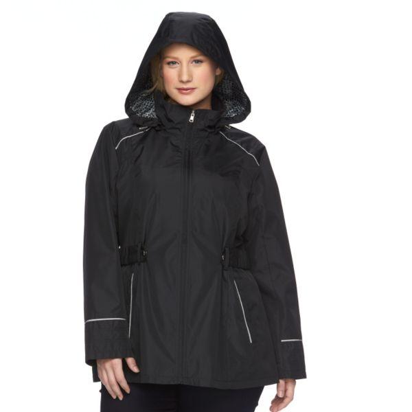 Plus Size d.e.t.a.i.l.s Luminous Anorak Jacket
